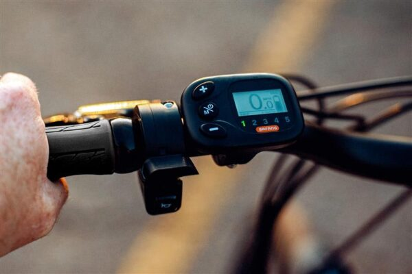 It's easy to control your E-bike.