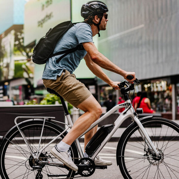 Charge city Electric bike brings ease to urban life.