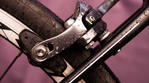 Bicycle brakes.