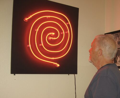 Here, right now, I see the spiral, feel its energy, and smile at the circular continuity of time.