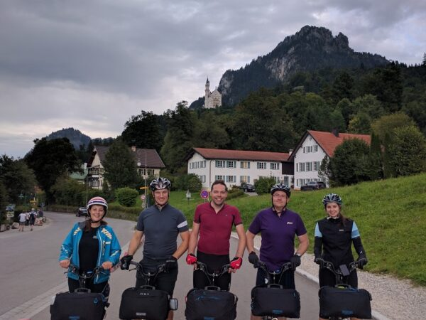 The Brompton design team even took Brompton Electric for a distance trial through the German Alps.