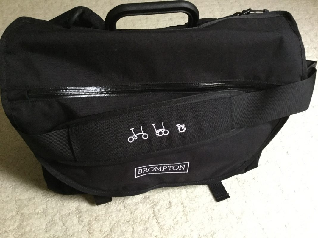 Brompton Sport Bag for shopping and commuting.