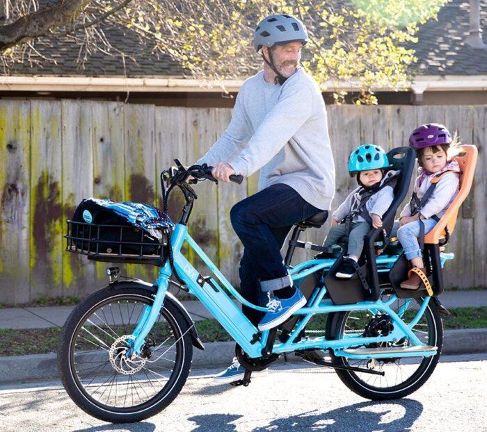 The Blix Packa is just a tad bit longer than a regular bike.