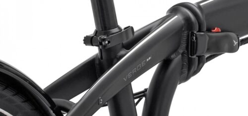 Tern frames use a patented 3D structure called DoubleTruss to build in extra stiffness.