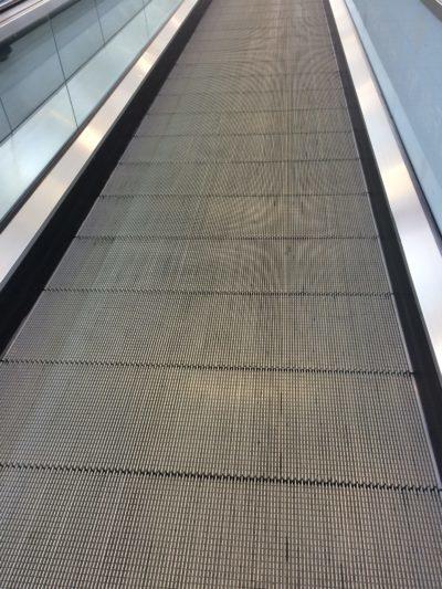 Conveyor belt at JFK airport in New York, New York.