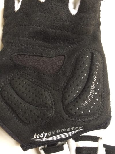 Padded palm area of Specialized Cycling Glove.
