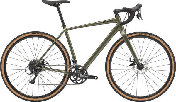 Cannondale Topstone Sora (2020) is one of the best gravel bikes under 1500 dollars.