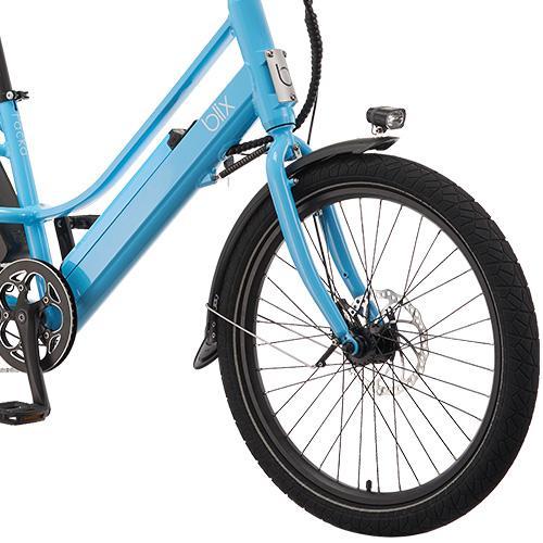 The Blix Packa is only a tad bit longer than a regular bike.