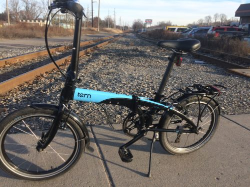 Tern Link D8 folding bicycle. Best gear for daily commuting.