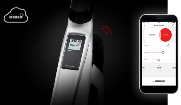 Stromer OMNI: Become inseparable from your ST3. Battery level, speed, miles traveled, current location – your Speed Pedelec tells you what you want to know via 3G. On your smartphone as well.