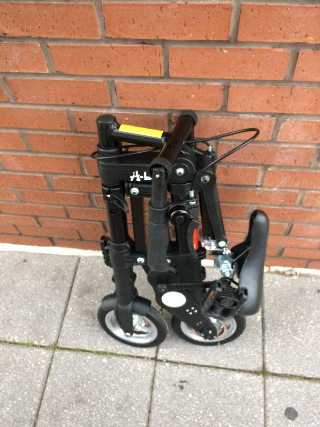 The smallest folding bike in the world.