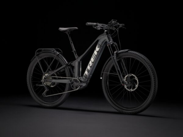 The Trek Powerfly FS9 Equipped.