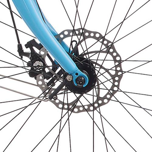 Blix Packa has reliable mechanical disc-brakes by Tektro.