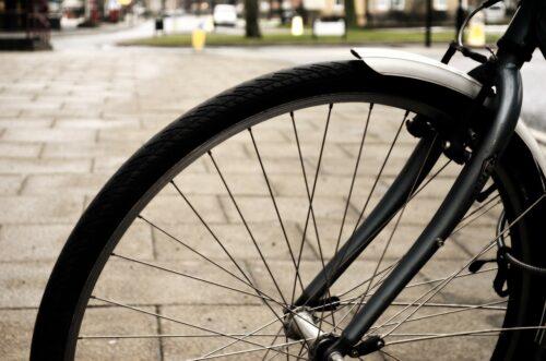 Bicycle fenders.