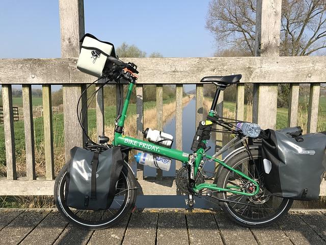 Get a folding bike.