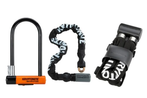 We typically recommend using a chain, long shackle u-lock, or a folding lock.