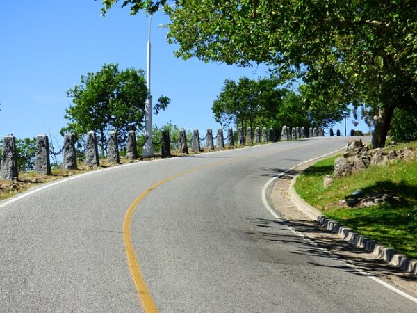Are you able to ride up this steep hill?