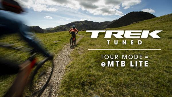 Trek eMTBs feature a custom eMTB Lite mode.