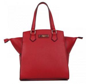 Nikky Fashion Red Smart Lunch Handbag
